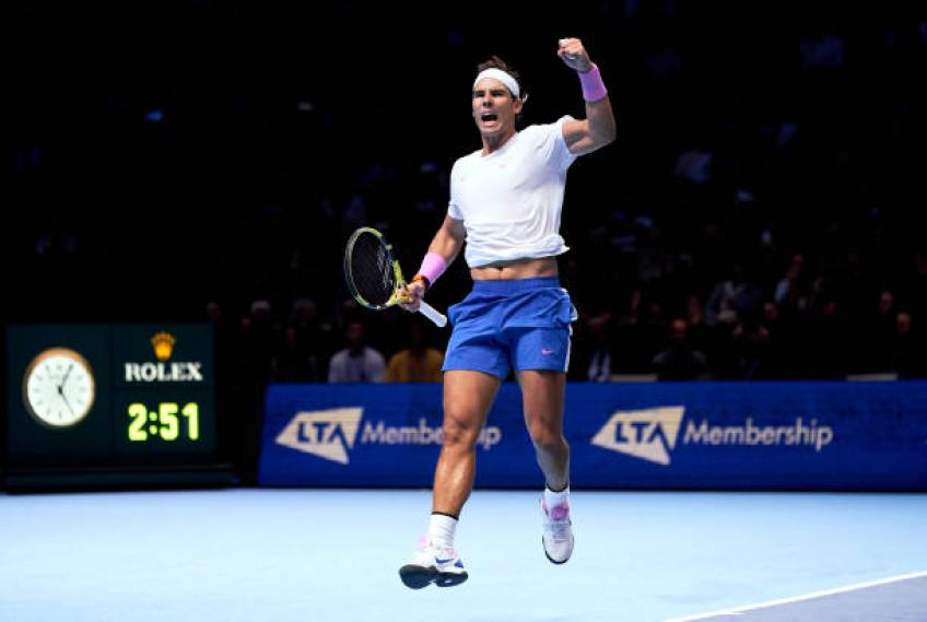 Rafael Nadal's season was almost perfect, says coach Carlos Moya - Tennis World USA