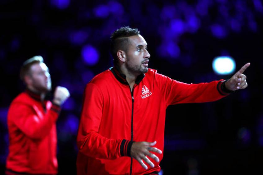 Nick Kyrgios was desperate to come back to Davis Cup team, says Hewitt
