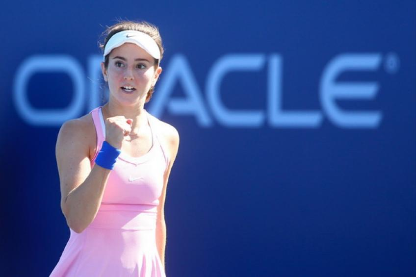 Cici Bellis: I've been doing a lot of fitness when I couldn't play tennis