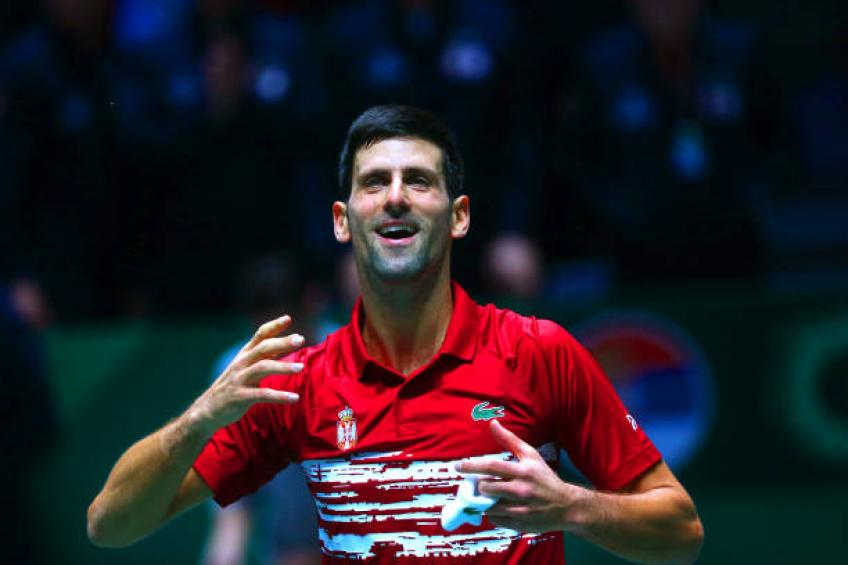 Novak Djokovic: 'I miss playing at home for Serbia in the Davis Cup'