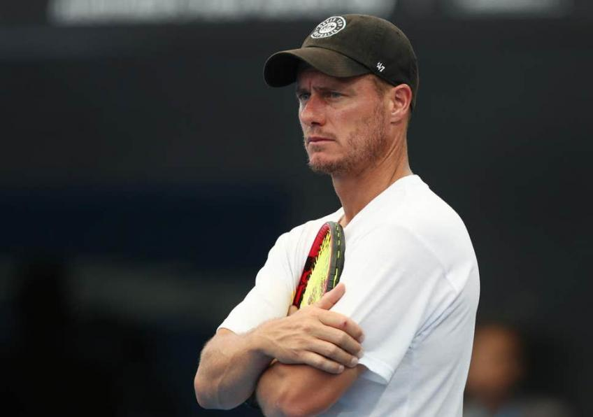Lleyton Hewitt explains shock doubles retirement in Belgium tie