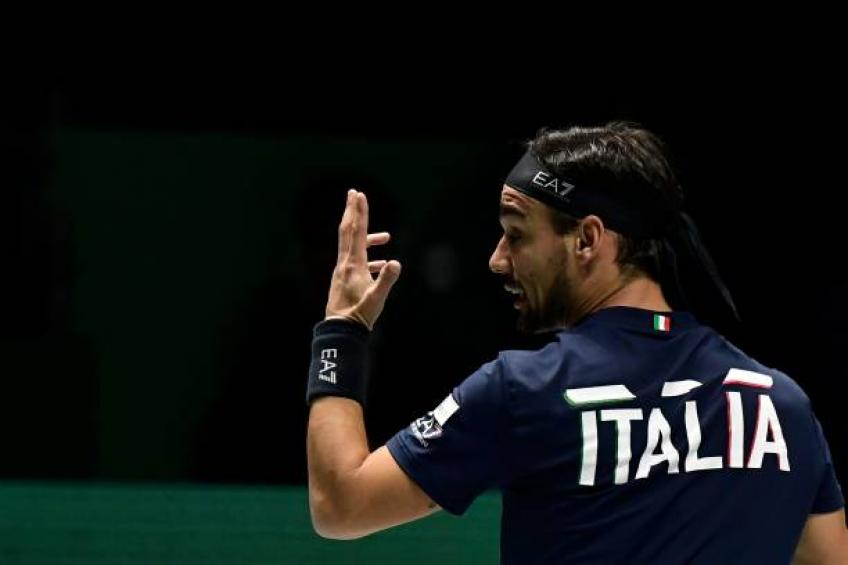 Fabio Fognini hits out at Davis Cup schedule after finishing tie at 4:00 AM