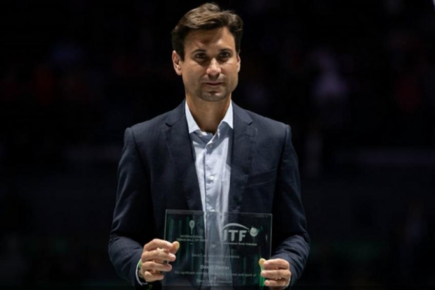 David Ferrer receives Davis Cup Award of Excellence in Madrid