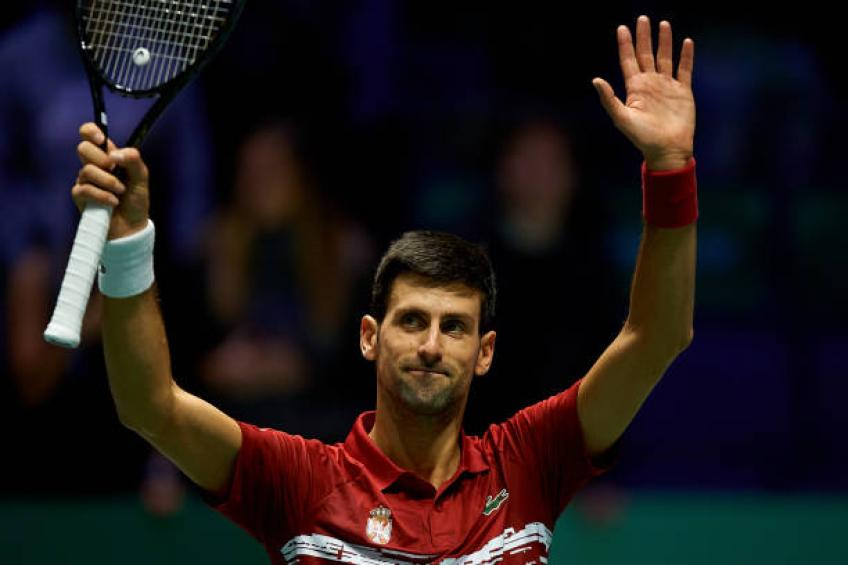 Novak Djokovic speaks about Davis Cup tie ending at 4:00 AM