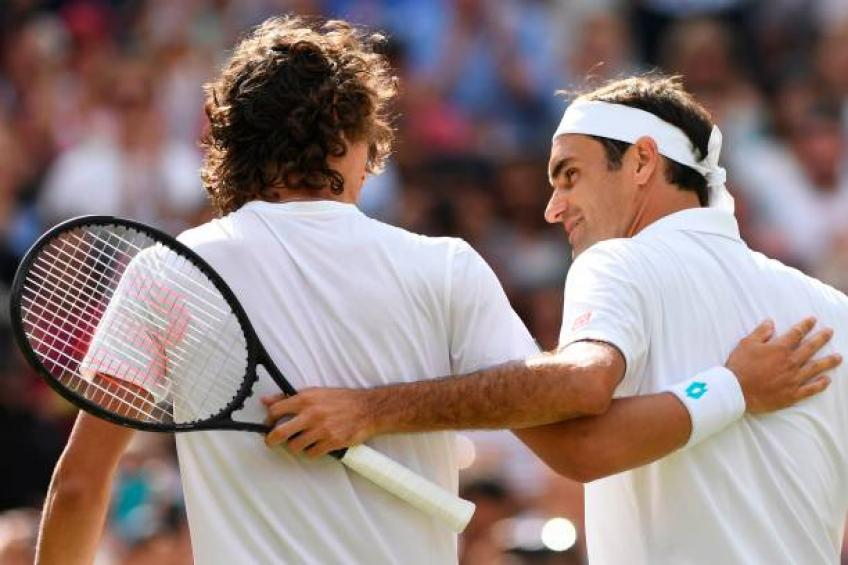 Harris: 'Even unknown people congratulated me for facing Roger Federer'