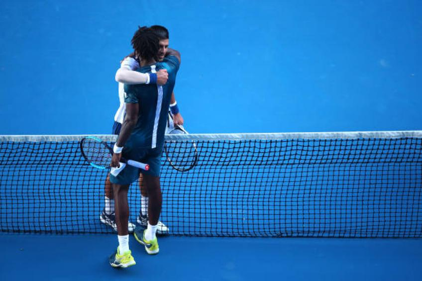 Captain shares why he did not pick Gael Monfils to face Novak Djokovic