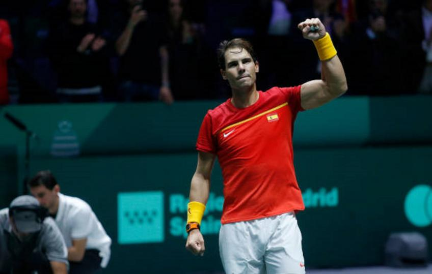 Captains backs Rafael Nadal and the Spanish team to beat Argentina