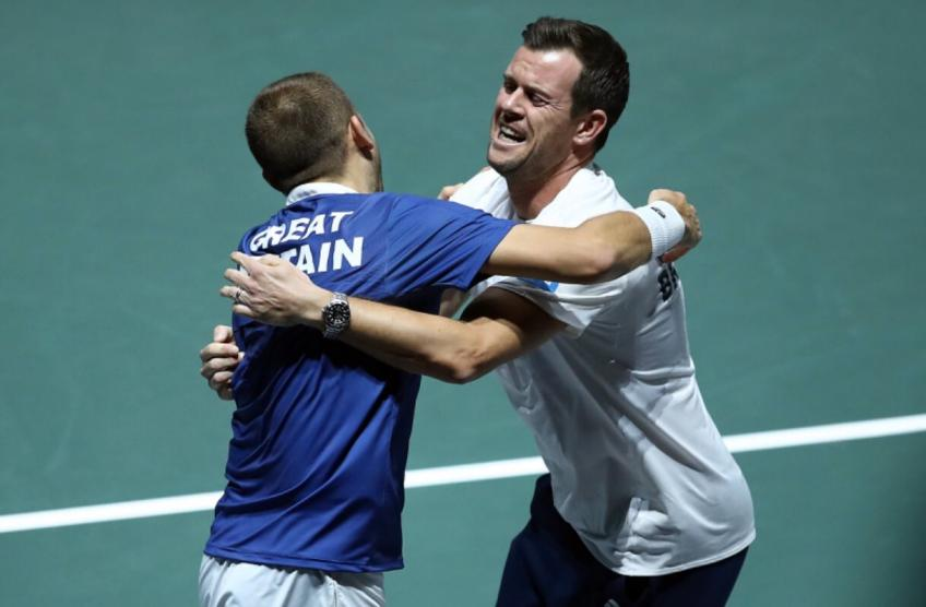 Captain Leon Smith reacts to Great Britain reaching SF at DC Finals