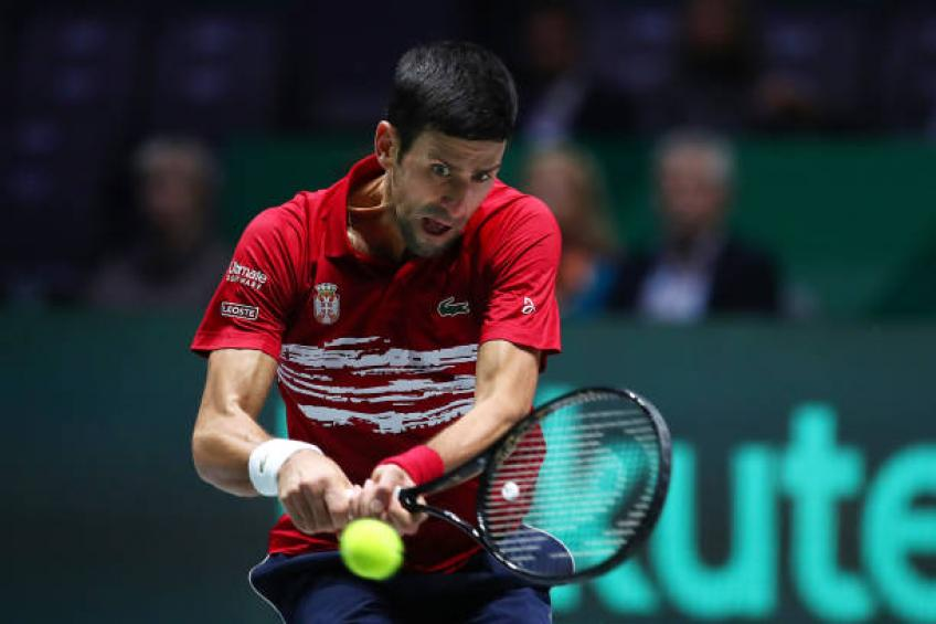 Novak Djokovic opens up on his elbow issue