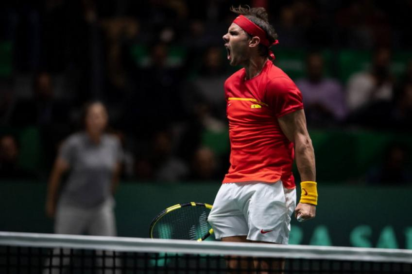 Davis Cup Finals: Inspired Rafael Nadal drives Spain into semis after..