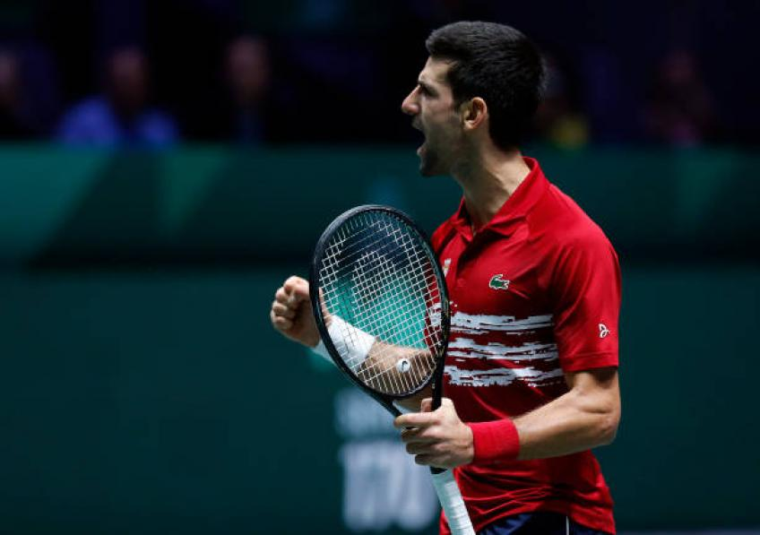 Novak Djokovic speaks about his coach possibly becoming Davis Cup captain