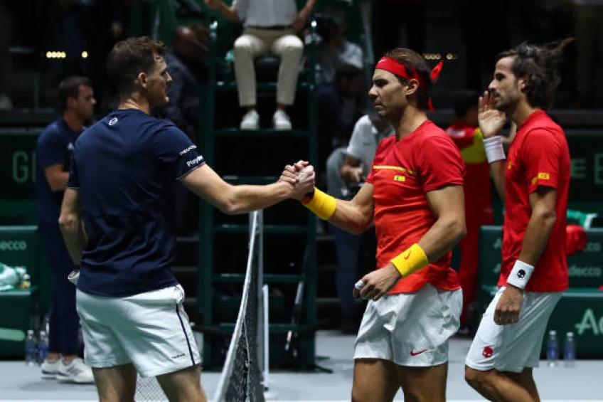 Jamie Murray: 'I could not touch Rafael Nadal's serve'
