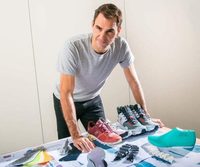 Roger Federer shares why he partnered with On shoes