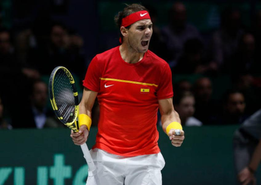 Rafael Nadal was a real beast in Davis Cup, says Gerard Pique