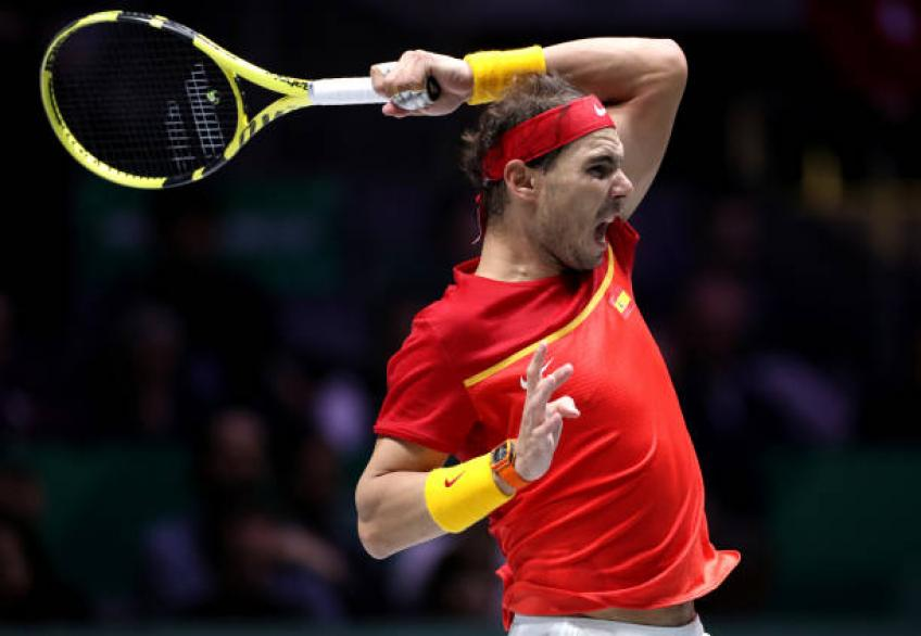 Training with Rafa Nadal at ATP Finals was a dream come true, says Tirante