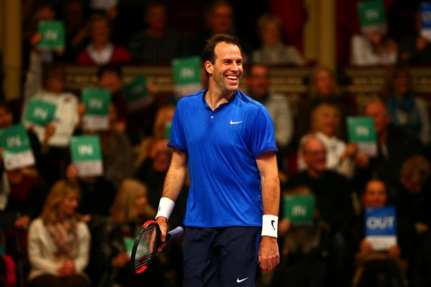 Greg Rusedski: 'I can't wait to hit the court with Tim Henman and Goran Ivanisevic'