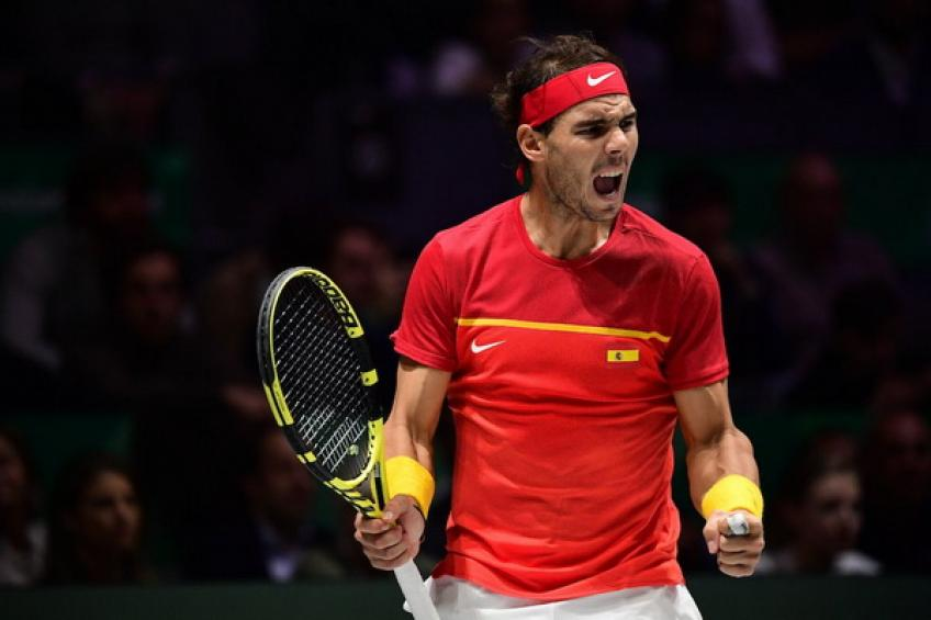 Rafael Nadal passes Federer and Djokovic but still trails behind Medvedev