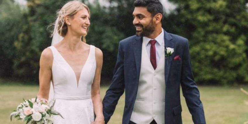 Divij Sharan and Samantha Murray Have Indian Wedding in Delhi