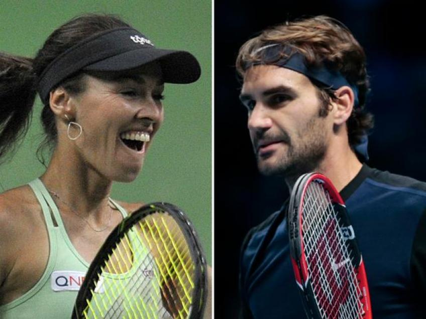 Martina Hingis Amazed to See Federer Still Play at this Level