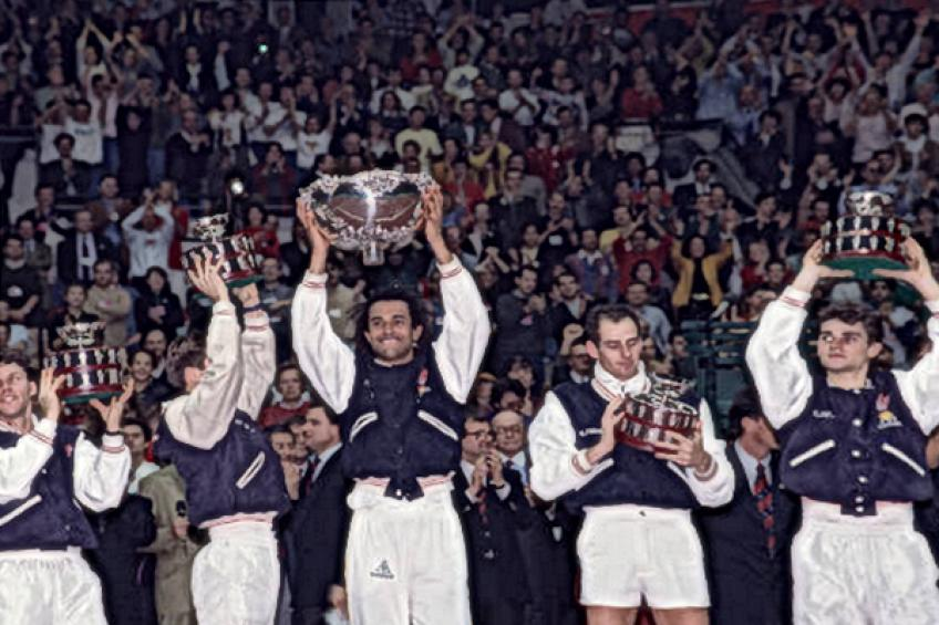 On this day: France tops USA for the first Davis Cup title in 59 years