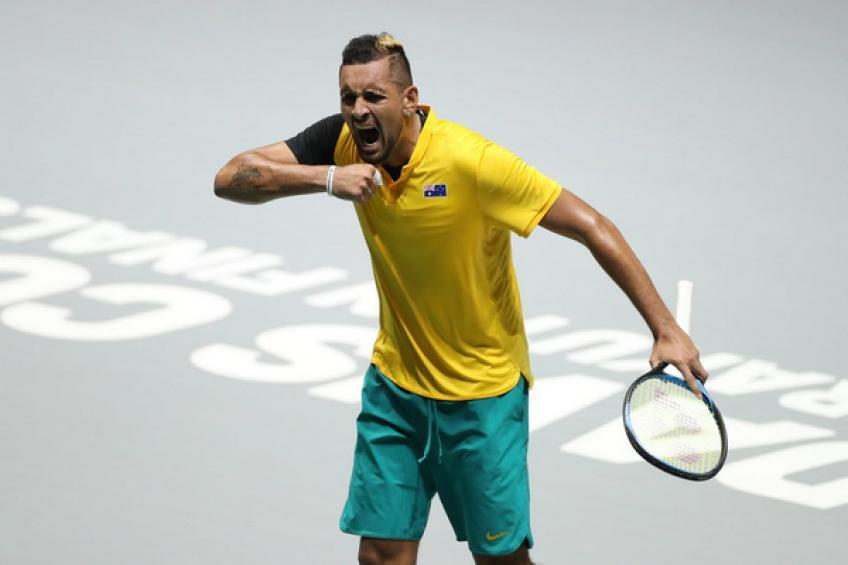 John Newcombe: 'Nick Kyrgios will have to learn to zip up'