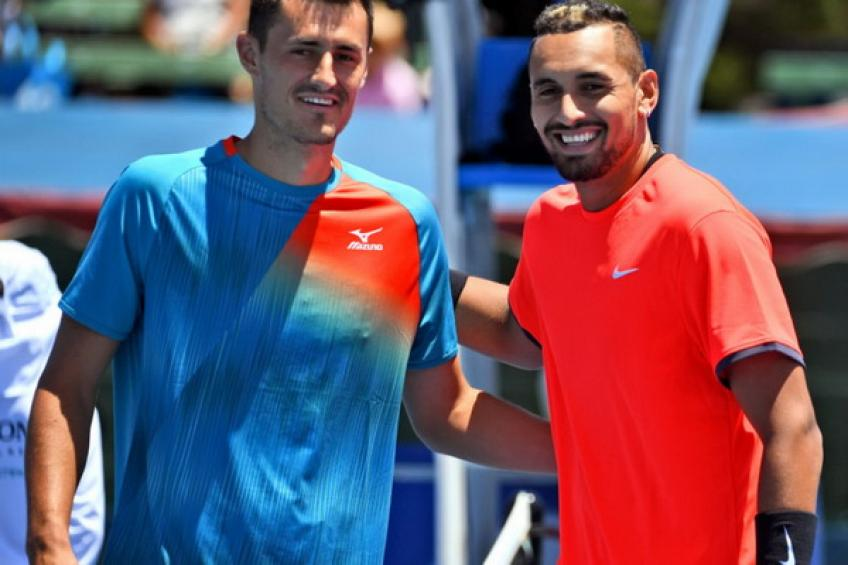 Nick Kyrgios joins Kooyong Classic field after the ATP Cup