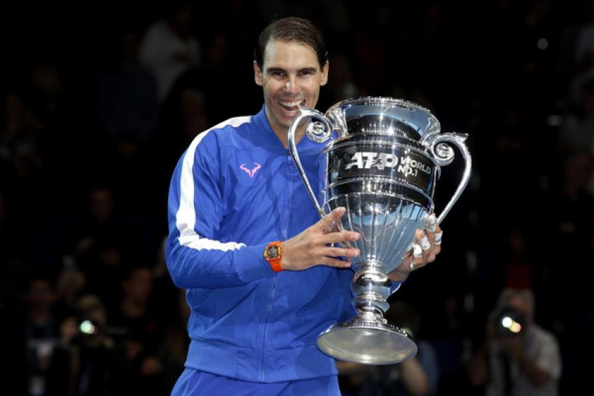 Rafael Nadal moves ahead of Novak Djokovic as the oldest year-end no. 1