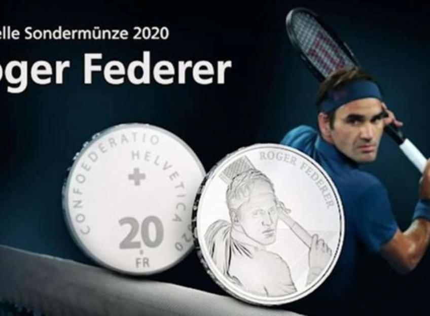 Announcement of Roger Federer's commerative coin crashes Swissmint website