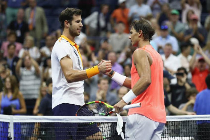 Karen Khachanov recalls when he was trying to imitate Rafael Nadal