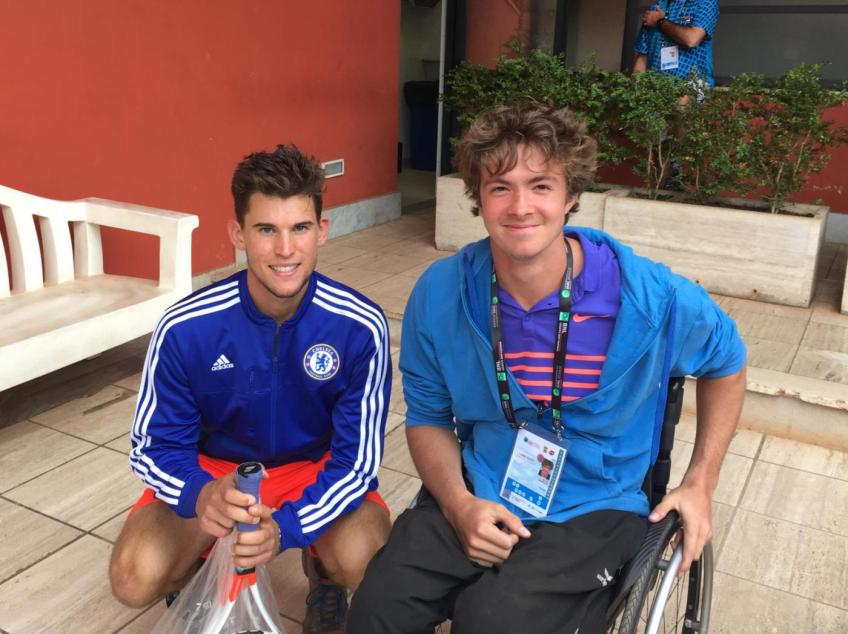 Nico Langmann speaks extremely highly of Dominic Thiem