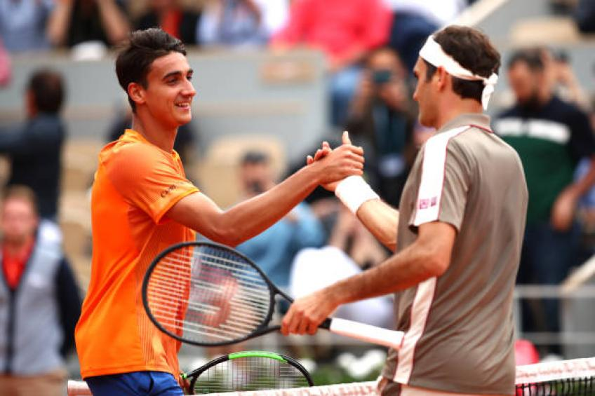 Lorenzo Sonego: 'French Open match vs Roger Federer one my season's highlights'