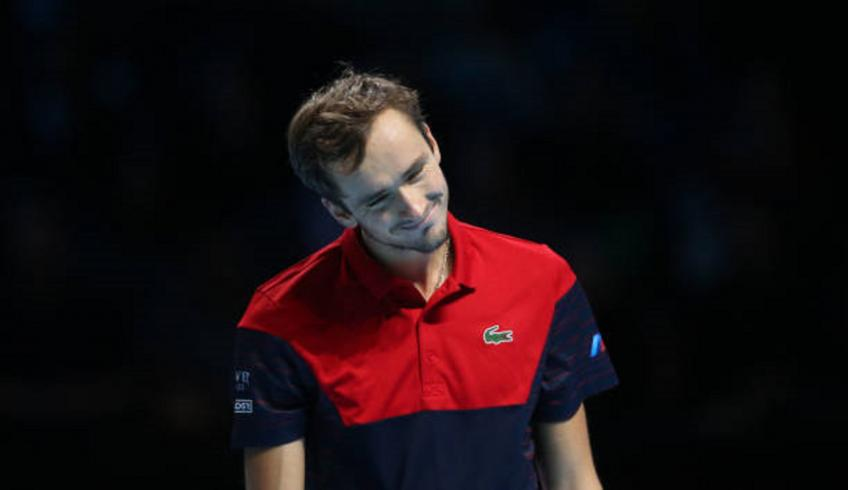 Daniil Medvedev hopes to win even more matches next year