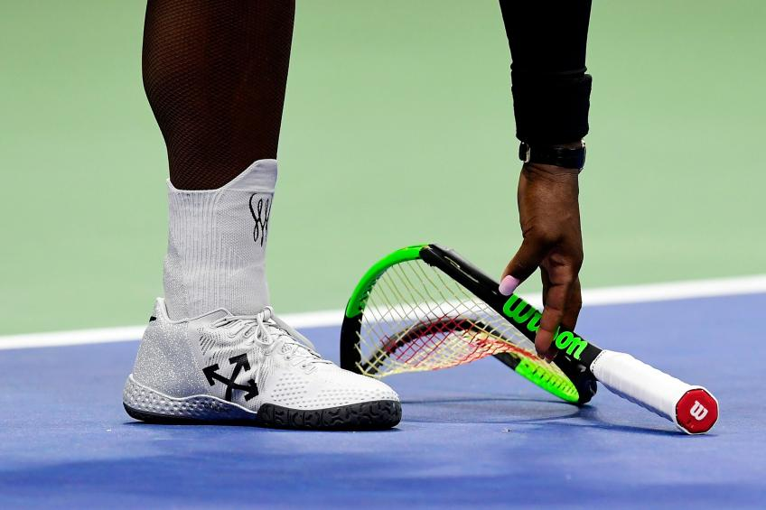 Serena Williams' Broken Racket Fetches $17K at Auction