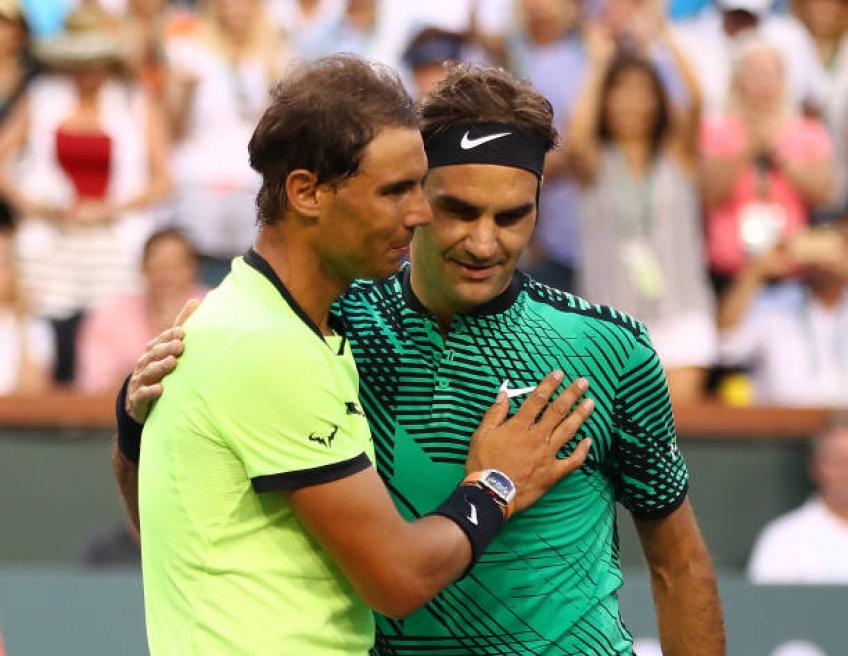 Roger Federer and Rafael Nadal playing, not coaching, is exciting - Caujolle