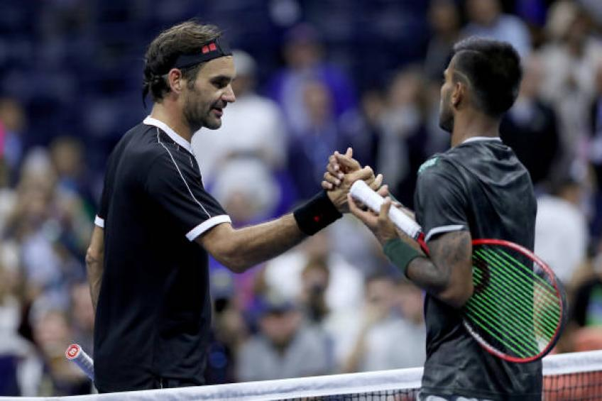 Sumit Nagal shares what Roger Federer told him