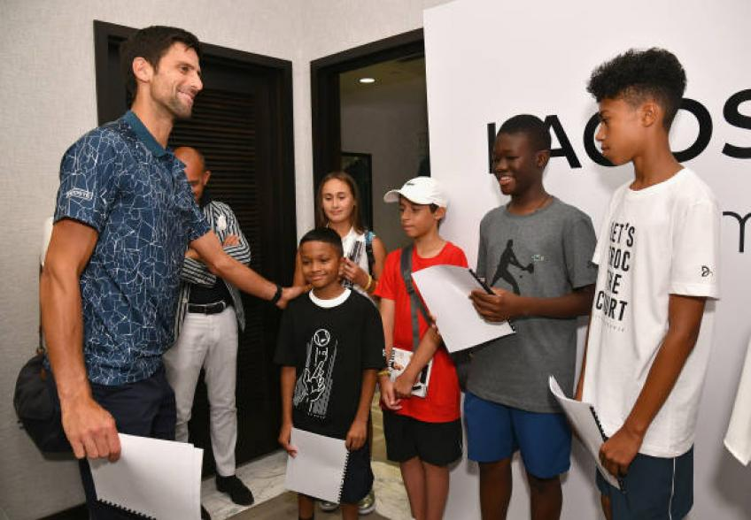 Novak Djokovic Foundation raises money to open new kindergartens