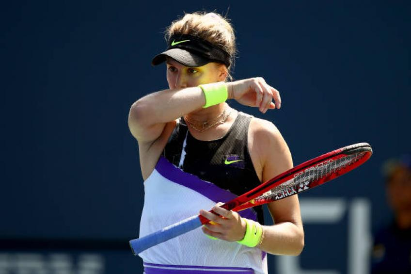 Eugenie Bouchard has been going through tough time, says Borfiga