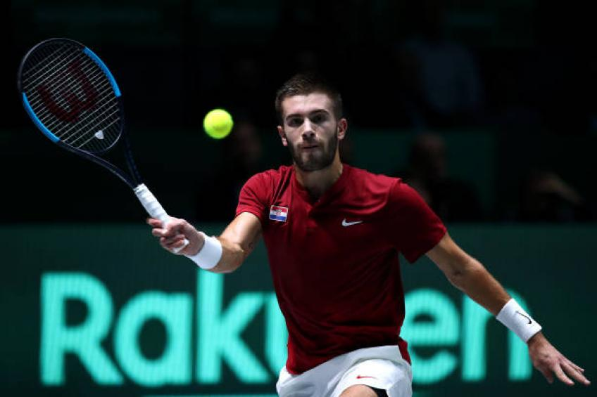 Borna Coric: 'I travel 47 weeks a year, it's a tough life'