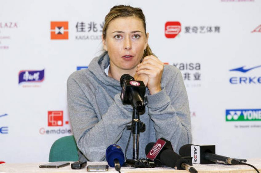 'Shenzhen Open and Maria Sharapova have not reached agreement for 2020'