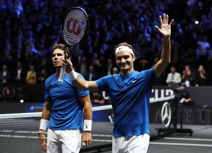 'Rafael Nadal and Roger Federer may retire from tennis together'