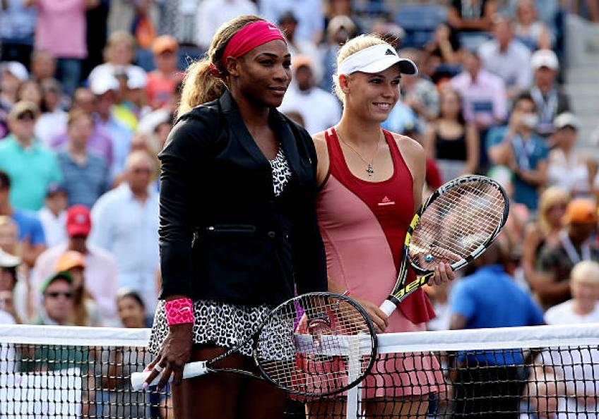 Caroline Wozniacki: 'Facing the GOAT Serena Williams will be a pleasure'