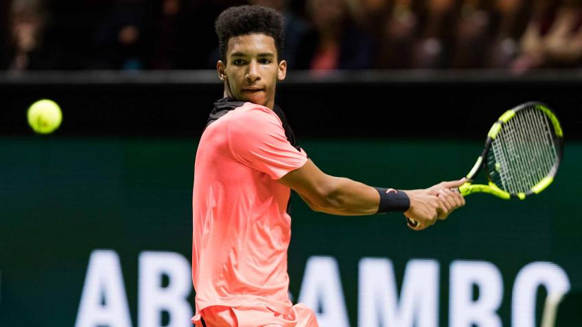Felix Auger-Aliassime commits to play Rotterdam in 2020