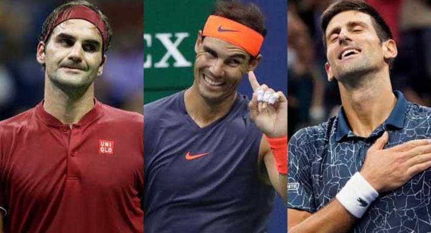 Guardiola makes comparison between Federer, Nadal, Djokovic and football