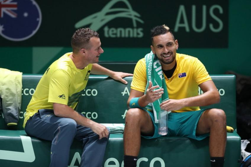 Hewitt shares concerns about Nick Kyrgios' injury ahead of Aussie swing