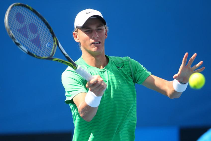 Max Purcell, 21, speaks on upcoming Australian Open Wildcard Play-off final