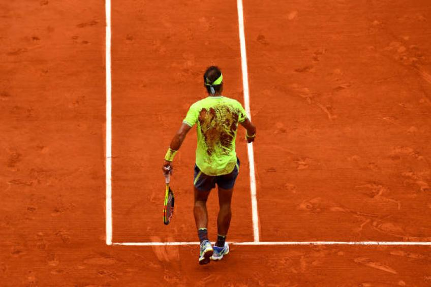 Rafael Nadal was scared and worried before a French Open final, says insider