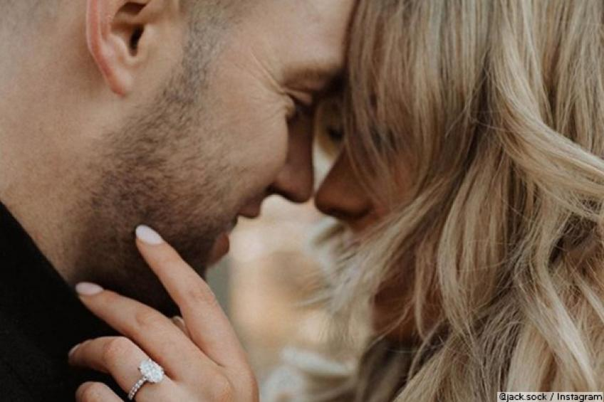 How Jack Sock got engaged with model Laura Little