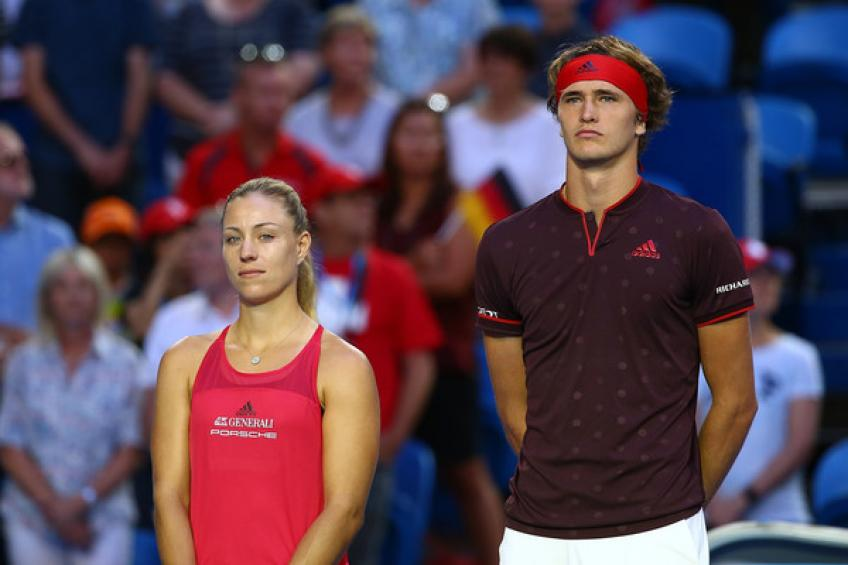Angelique Kerber Considering Playing Mixed Doubles in Tokyo with Alexander Zverev