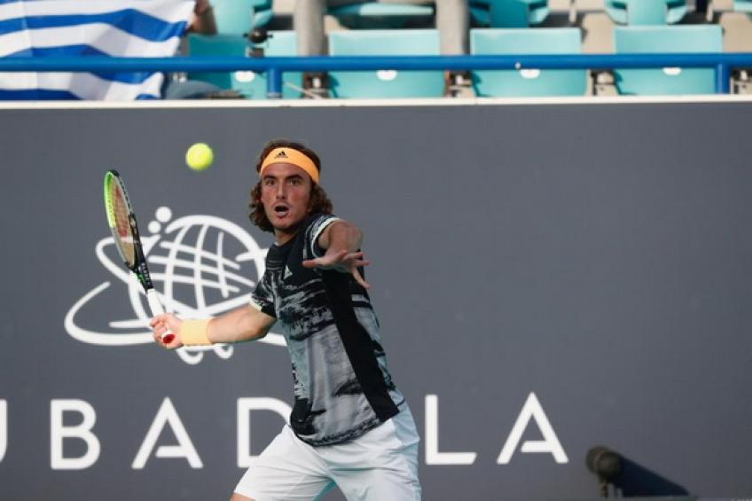 Stefanos Tsitsipas dreams big ahead of 2020 following victory over Novak Djokovic