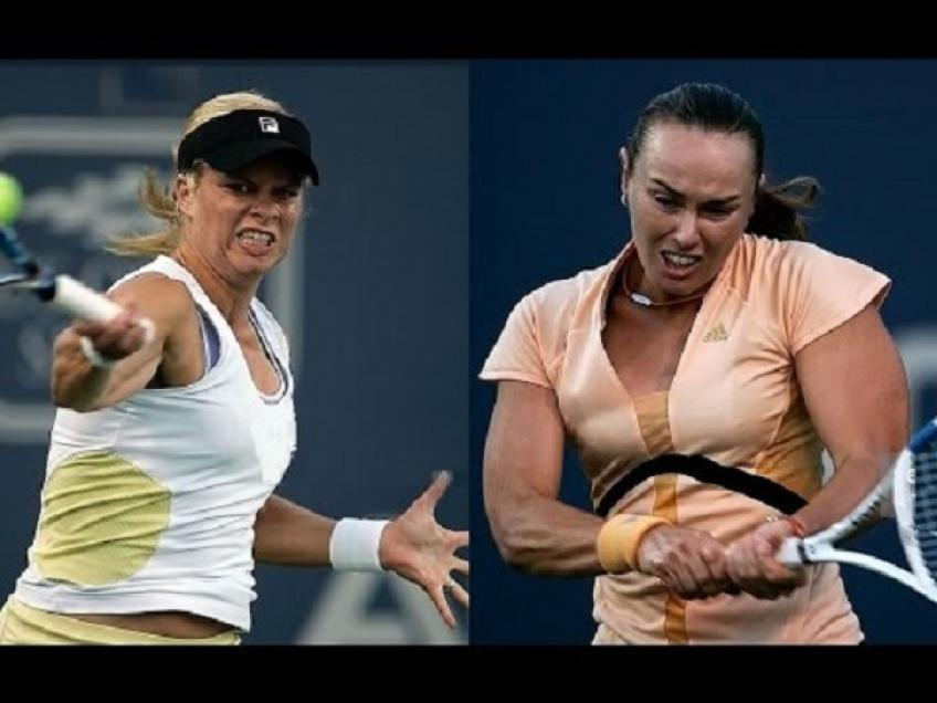 Martina Hingis and Kim Clijsters differ on age-eligibility rule implementation